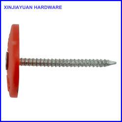 "1-3/4 "" Längen-runde Plastikschutzkappen-Stahlnagel-Ring-Schaft"