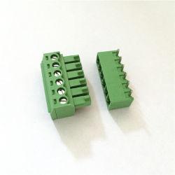 さまざまな種類のための3.5mm 3.81mm 5.0mm 5.08mmピッチPCBのねじ込み端子のブロック