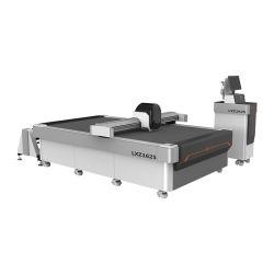 Jinan CNC Laser mit Digital-vibrierender Messer-Ausschnitt-Maschine für Kleid-Kleid-Gewebe