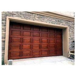 Portello d'acciaio del garage del grano di legno automatico
