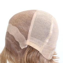 Lm001 silicium antiglisse Mono haut et le Lace Front perruque de cheveux synthétiques pour les femmes