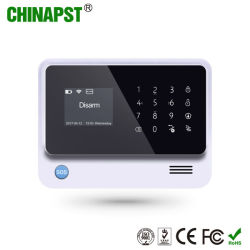 2019 Hot Sale le soutien de caméra IP WiFi GSM accueil alarme avec affichage LCD (PST-G90B Plus)