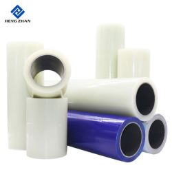 Pellicola protettiva libera polietilene autoadesivo trasparente/blu/Nero-Bianco di colore