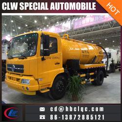Dongfeng Tianland 8ton 10tonの真空タンク下水道の吸引のトラック