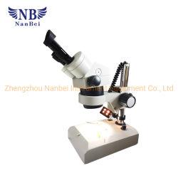 Microscópio estéreo para reparação electrónica com oftalmoscopia binocular