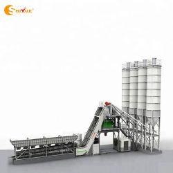 Impianto di miscelazione concreto d'ammucchiamento di Beton dell'impianto di miscelazione della pianta del cemento di rendimento Hzs75