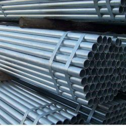 Las tapas de los extremos de la ranura Galvanizado en caliente del tubo de acero redondo