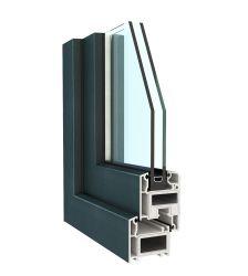 La energía al servicio de UPVC y perfil de PVC para la ventana y puerta.