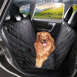 I prodotti Oxford dell'animale domestico Anti-Graffiano la chiusura lampo del coperchio di sede dell'automobile del cane