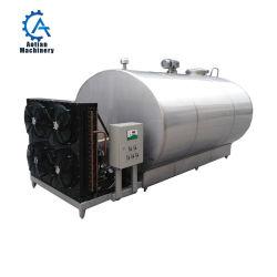 우유 저장을%s 수평한 유형 우유 냉각 탱크