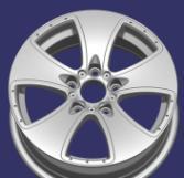 Rotella della lega dell'automobile di alta qualità, cerchione con 15X6 045