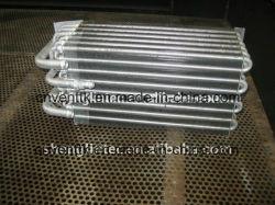 싼 알루미늄 관 알루미늄 탄미익 열교환기
