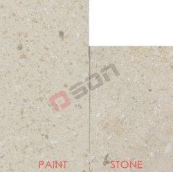 Oslp123-pared de piedra caliza y travertino en busca de la pintura de emulsión de pulverización