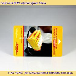 L'impression de carte à bande magnétique Hico PVC pour l'Hôtel de la Key Card