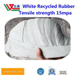 Latex Gerecycleerd Rubber Natuurlijk Gerecycleerd Rubber MilieuRubber Gerecycleerd Rubberwhite Gerecycleerd Rubber van Natuurlijk Rubber Met hoge weerstand