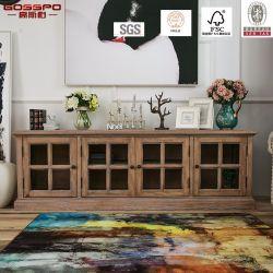 Hölzerne Möbel-Antike chinesischer Schrank des Fernsehapparat-Standplatz-/Fernsehapparat (GSP13-015)