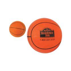 لعبة كرة السلة بالجملة PU المضادة للتوتر الكرة يمكن تخصيصها للهدية الترويجية للأطراف