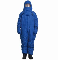 低温学の防護衣