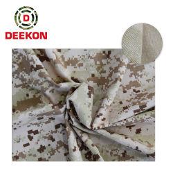 Arabien-Wüsten-Digital-Baumwollnormales Tarnung-Gewebe 100%
