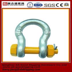 Hot Sale prix bon marché chinois bon Qualitygalvanized gréement G209/G210/G2130/G2150 manilles,