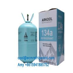 99,9% de pureté Non-Flammable Gaz réfrigérant R134a du fréon