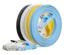 32AWG à plat câble réseau UTP Cat 5e Gros câble de réseau LAN