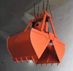 Diseño de concha de electro-hidráulico para agarrar la carga de escoria