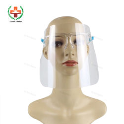 Visiera protettiva facciale visiera trasparente strato antiappannamento protegge gli occhi Da Splash Facesheld