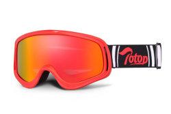 Anti-Scratch Anti luzes de nevoeiro de vento Motociclo Cruz Motor Racing Óculos de protecção