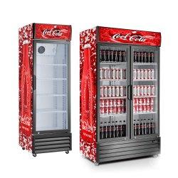Кока-Колы в вертикальном положении дисплей охладитель соды в вертикальном положении производителем охладителя