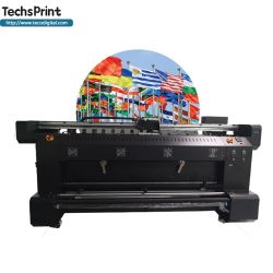 대형 디지털 패브릭 텍스처 인쇄 기계 플래그에 직접 인쇄 기계