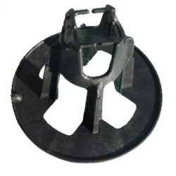Op maat gemaakte duurzame versterkte ronde Rebar Chair kunststof PP Reba-Chair voor Kunststof afstandsstuk voor stalen stang bouwen