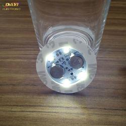젖병용 LED 글로우 스티커, LED 병 스티커 조명, 웨딩 장식용 LED 라이트 스티커 배터리