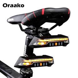 핫 셀링 3 in 1 접이식 USB 라이트 레드 또는 자전거 충전용 LED 라이츠 의 경우 왼쪽으로 노란색 턴 전기 자전거