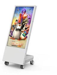 Portable 43pulgadas LCD de pantalla de publicidad móvil Android Reproductor Digital Signage