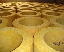 Glasswool трубы строительного материала пробки изоляции жары