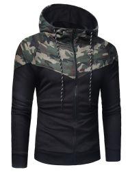 Les hommes de l'automne hiver Bodybuilding formation Hooded Jacket sportif décontracté usine peuvent l'ODM Service d'usure