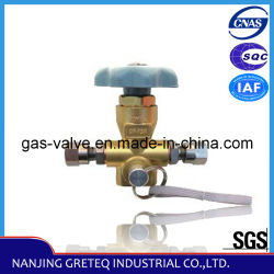 Best Price를 가진 QF-T3A Brass Nature Gas Car Filling Valve