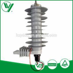 Prix de gros la ligne de transmission de haute qualité 18kv Metal-Oxide parafoudre contre les surtensions