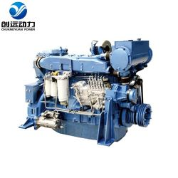 Weichai Wd618 / Wd12 300HP 船舶推進用ディーゼルエンジン