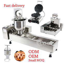 Equipamento de assar bolo automática melhor Roti Comercial tornando Fogão Donuts fritadeira Maker Pão de fábrica Waffle Stick Mini Donut Fabricante da Máquina