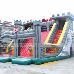 Настраиваемые используется для установки вне помещений коммерческих Большой надувной игровой площадкой для детей и взрослых