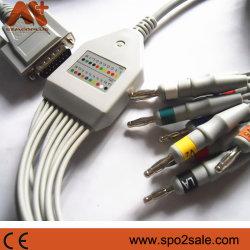 Compatível Nihon Kohden Ba Direct-Connect-902D CABO DE ECG