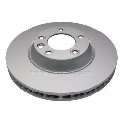 Qualität passte Bremsen-Platte für Audi, PORSCHE, gelüfteter Läufer OE#7L6615301E ECE R90 an