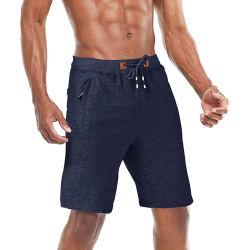 Extremadamente transpirable y shorts de algodón de la moda para hombres