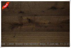 3층 유럽식 오크 엔지니어드 목재 바닥은 고품질입니다 UV 오일/목재 파케/단단한 나무 바닥