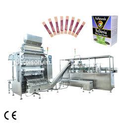 Harina Azúcar Leche café de máquina de empaquetado de especias con múltiples carriles