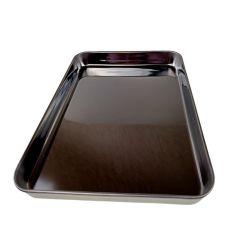 Le snack-Bac multi-usage plat carré de la plaque en acier inoxydable 304