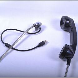 세륨 승인되는 ABS/PC 물자 파괴자 저항하는 공중 전화 송수화기