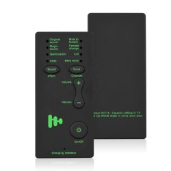 Mini Tragbare Sound-Effekte Maschine Voice Device Audio Card Sound Wechsler für Live Streaming Online-Chat singen M1